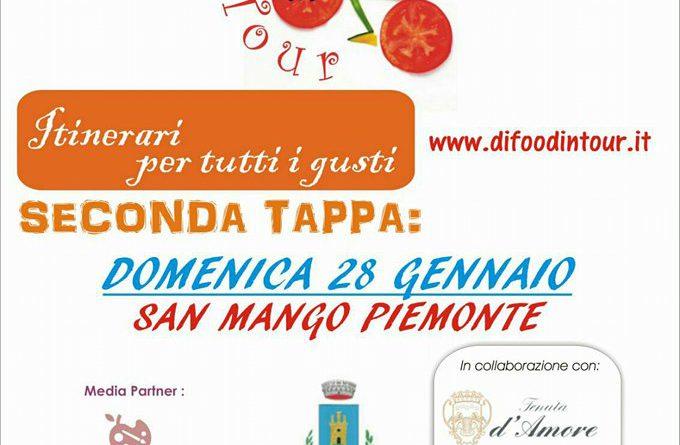 """Alla scoperta di San Mango Piemonte domenica 28 gennaio con la tappa """"Di Food in Tour. Itinerari per tutti i Gusti""""."""