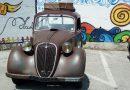 Tappa a San Mango del tour picentino di autoveicoli d'epoca: esposizione e sosta pranzo.