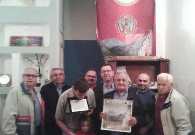 La Pro Loco di San Mango Piemonte conferisce la qualità di socio onorario a Luigi Francesco Celano, nipote dell'illustre medico Luigi Celano.