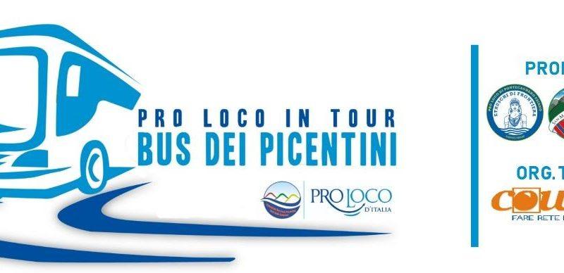 """Varato il """"BUS dei PICENTINI"""" per """"Pro Loco in tour"""". Domenica 28 aprile prima tappa Buccino."""