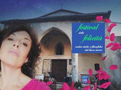 """Al Premio Tubenna esordio del """"Festival delle felicità"""", madrina Eva Alfinito."""