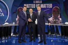 """Le Pro Loco protagoniste del dibattito tra Matteo Renzi e Matteo Salvini andato in onda ieri a """"Porta a Porta"""""""