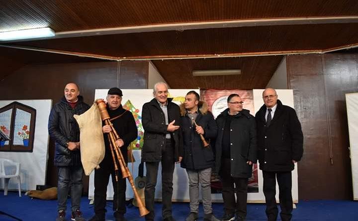 """Sabato 28/12 nel centro S.Maria """"Tre cumpari musicanti"""" spettacolo teatrale di Paolo Apolito con musiche di Antonio Giordano."""
