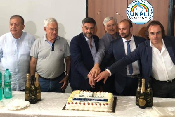 UNPLI Salerno: rinnovati gli organi statutari. Marcello Nardiello di Buccino nuovo presidente provinciale.
